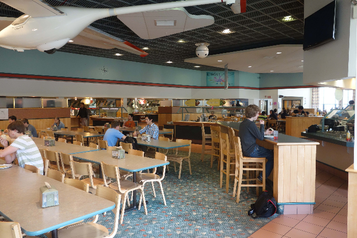The Commons cafeteria at RPI.