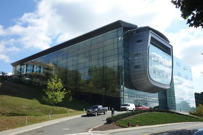 The EMPAC building.